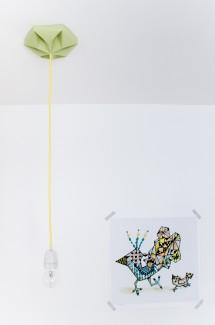 FIY Kroonuppe plafondkapje herfst groen