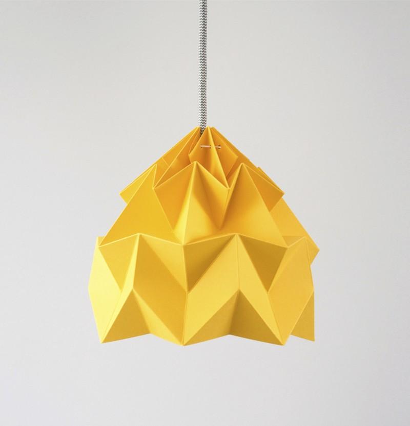 Moth Gevouwen Papieren Origami Lamp Studio Snowpuppe