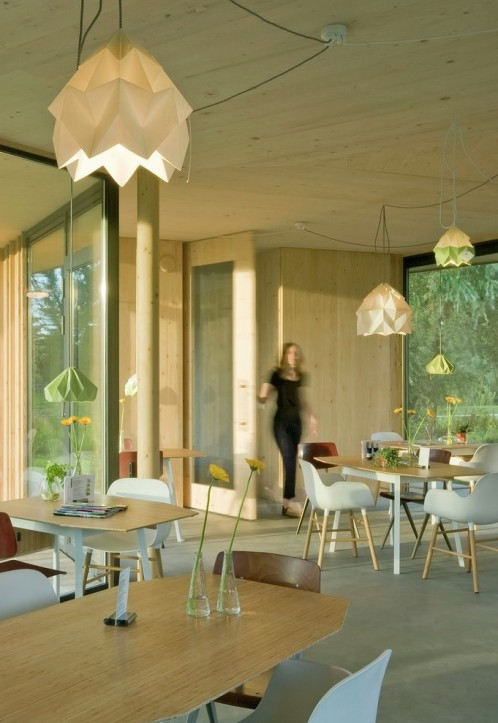 Theehuis Tuin van Noord, by Gaaga studio for architecture