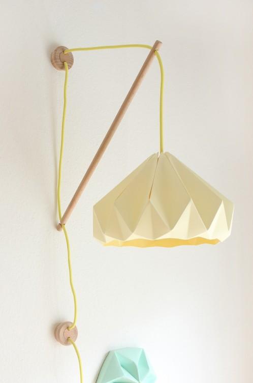 Muurlamp Klimoppe met Chestnut