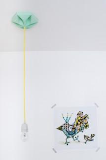 FIY Kroonuppe plafondkapje mint