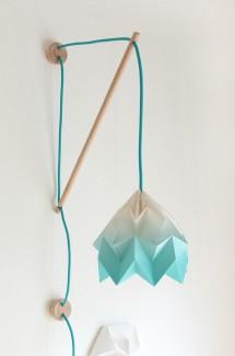 Muurlamp Klimoppe met Moth gradient
