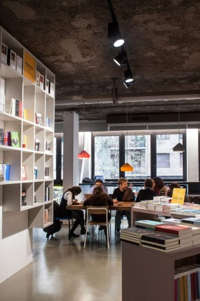 Bookshop Open by UdA architects