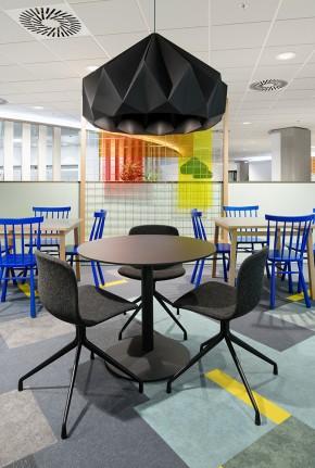 Restaurant BPS Centerpoint at Schiphol airport