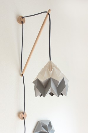Wall fixture Klimoppe with Moth bicolor