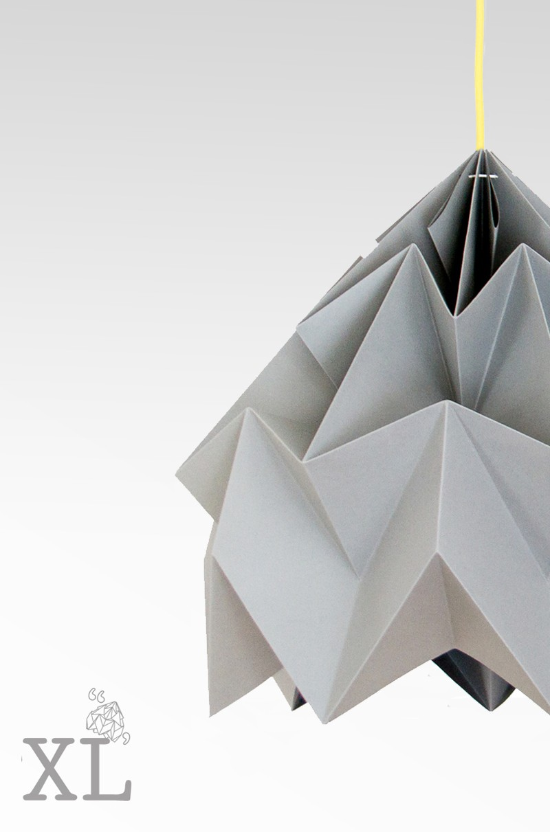 Moth Xl Paper Origami Lamp Paper Origami Lampshades By