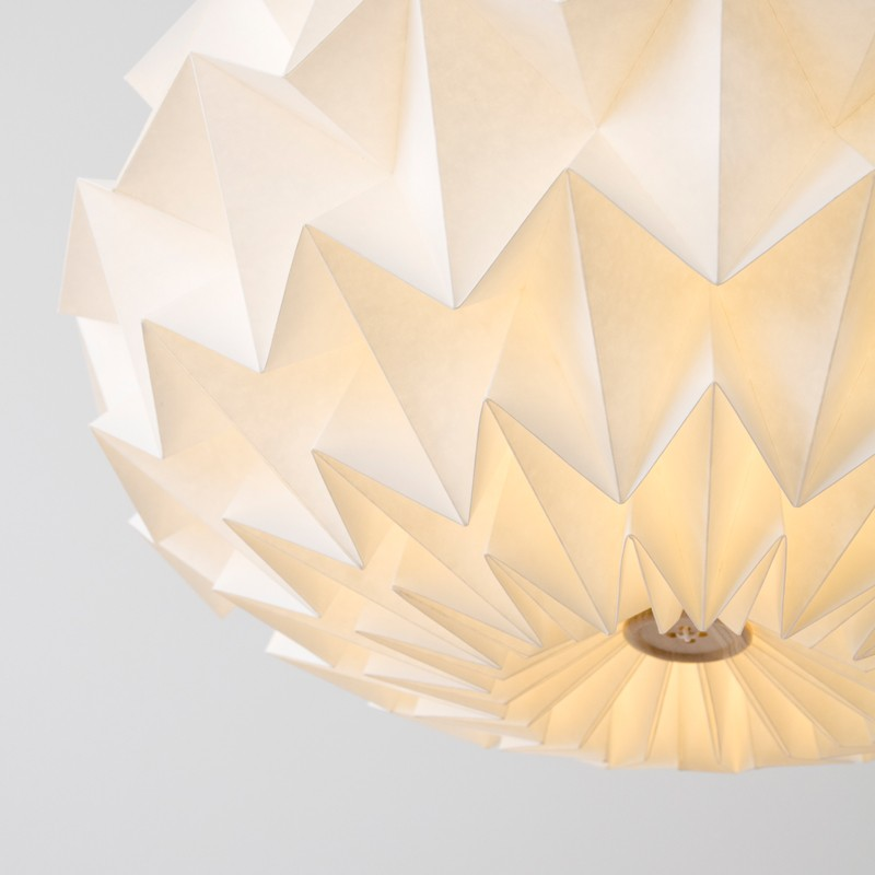 Signature folded paper origami lampshade paper origami more views aloadofball Images
