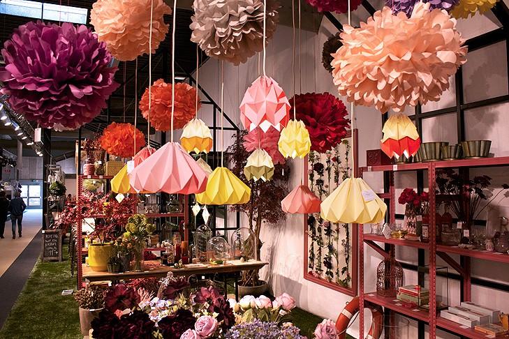 Studio Snowpuppe Lamp : What we do at formland studio snowpuppe paper origami lampshades