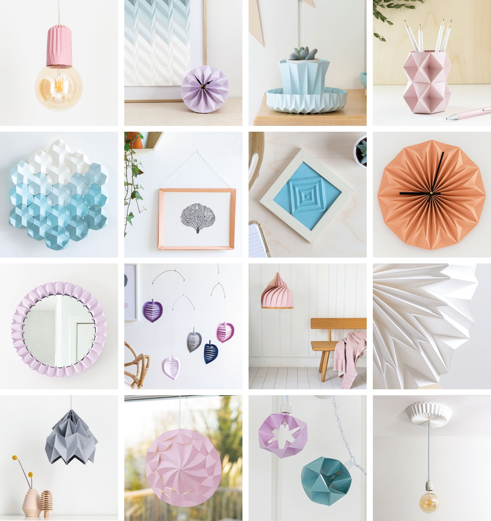 16 projects from Better Living Through Origami