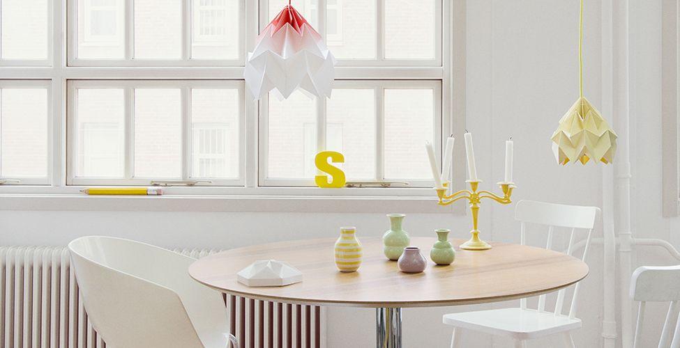 Studio Snowpuppe Lamp : Origami lamp papieren origami lampen van studio snowpuppe sinds